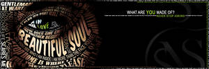 Supernatural Typography Banner