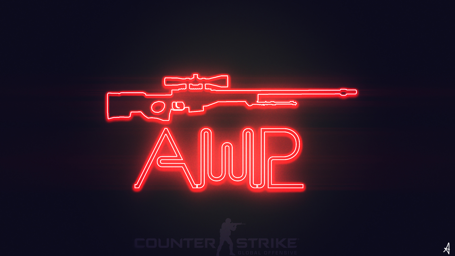 TwilightliciousBR CSGO AWP WALLPAPER NEON By
