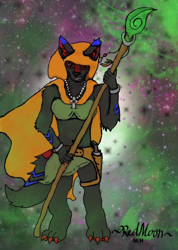 RedMoon Gardian by RedMoonxWolf