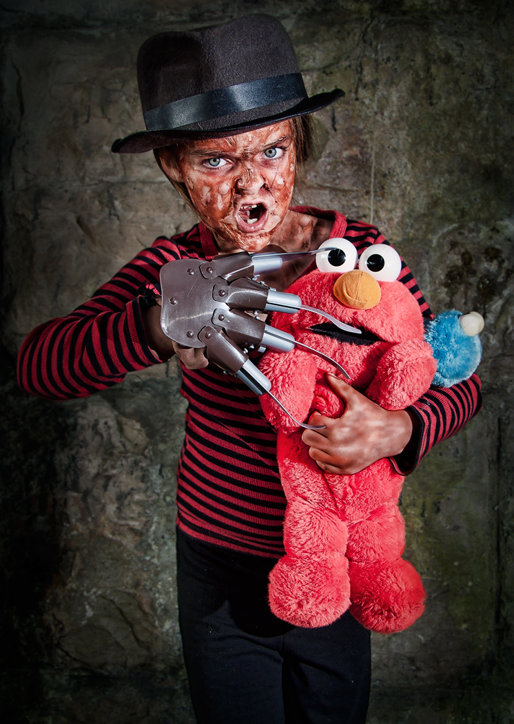 Nightmare on Sesame street by Harpyimages