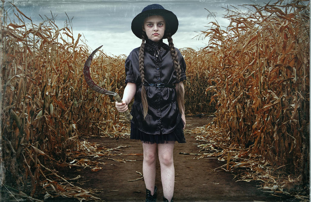 Children of the corn/Halloween fun by Harpyimages