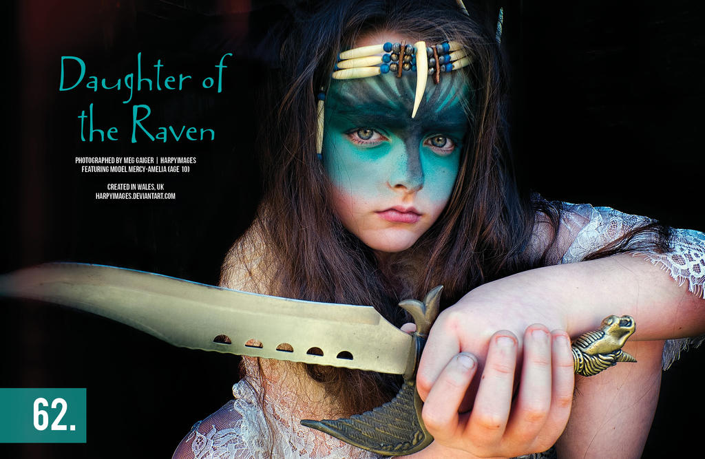 Daughter of the Raven Gothesque jnr pt2 by Harpyimages