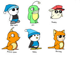 Ufouria Characters
