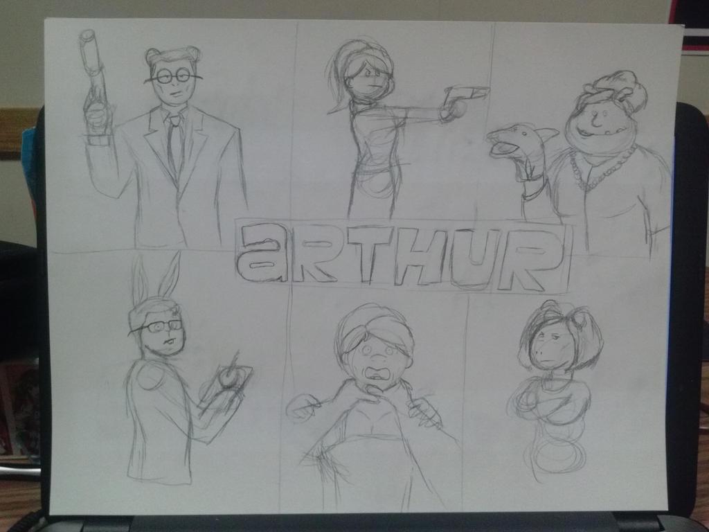 Arthur (W.i.P) by Ballisticfury