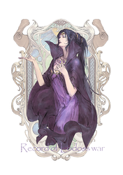 Record of Lodoss War Karla The Grey Witch by hes6789