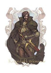 Record of Lodoss War King Kashue by hes6789