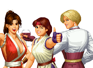 King Of Fighters 96 Women Fighters Team By Hes6789 On Deviantart