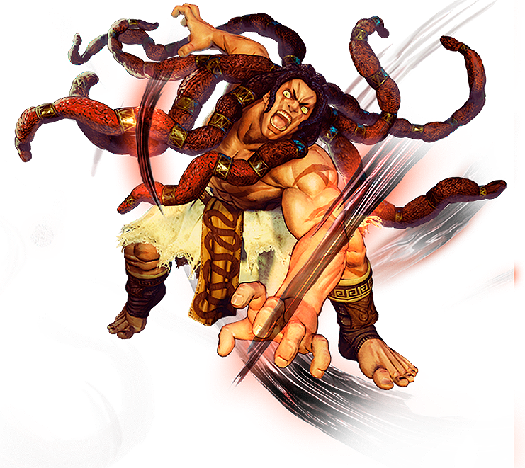 Street Fighter 5 Necalli By Hes6789 On Deviantart
