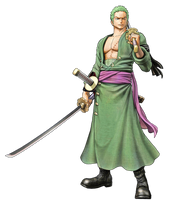 One Piece Pirate Warriors 3 Roronoa Zoro by hes6789