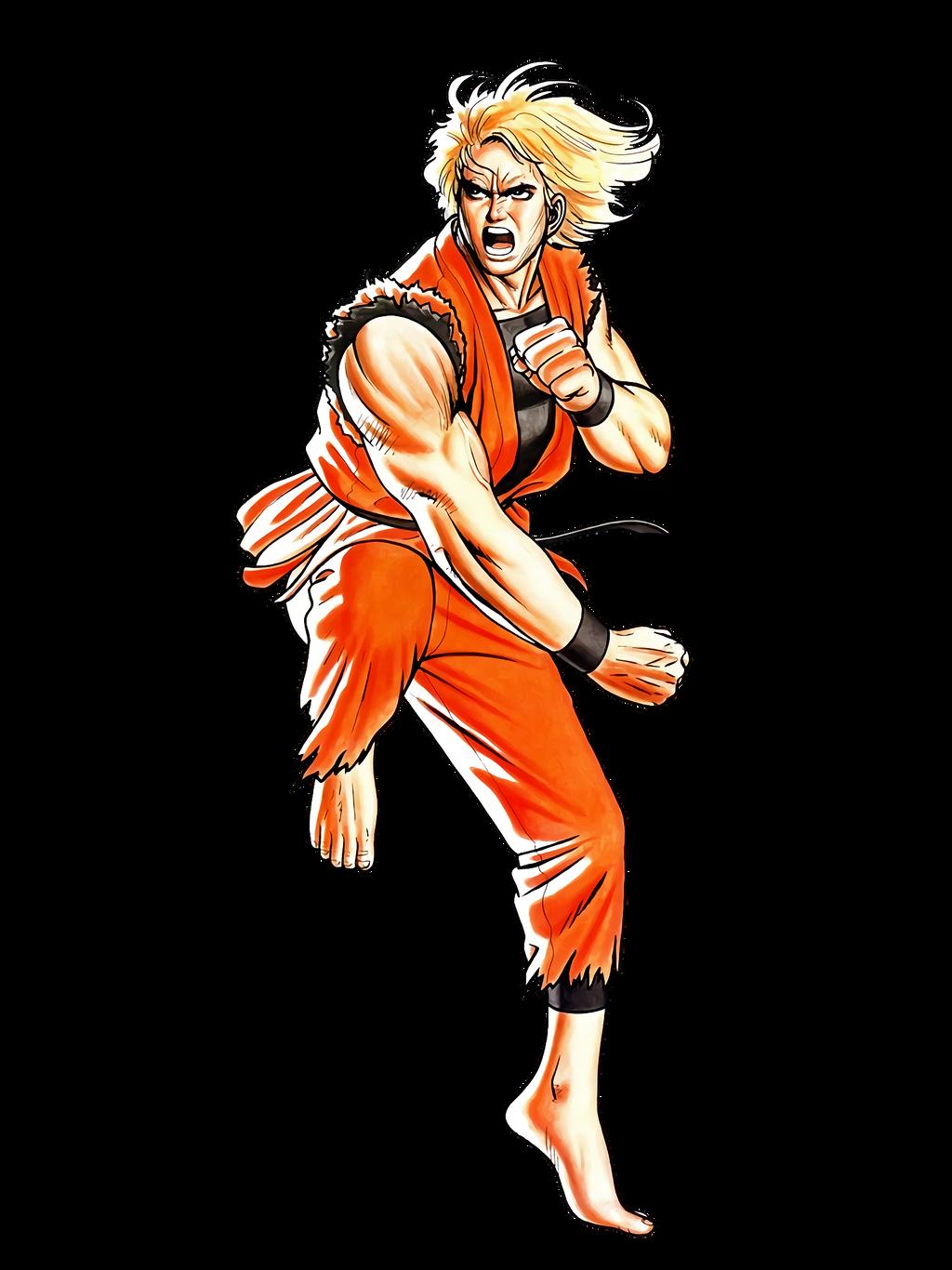 Art Of Fighting Ryo Sakazaki By Hes6789 On Deviantart