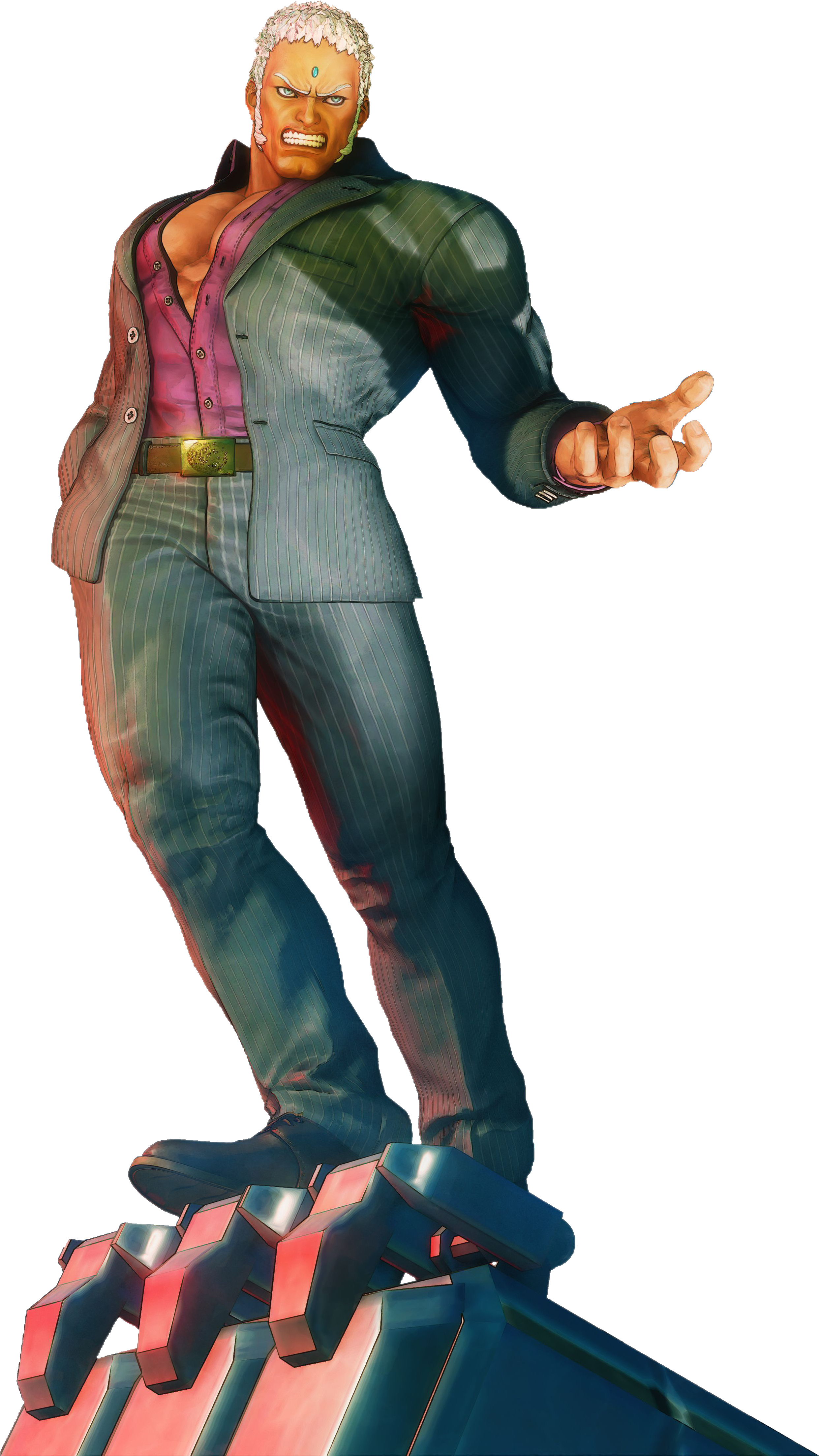 Street Fighter 5 - Urien by hes6789 on DeviantArt