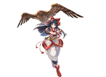 Granblue Fantasy - Nakoruru by hes6789