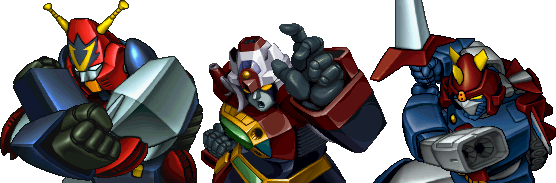 Super Robot Wars Alpha - Combattler Voltes Daimos