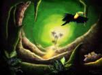 Le Toucan de La Grotte Verte