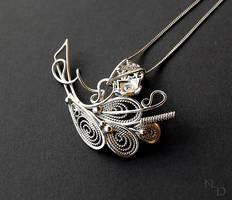 pendant,silver by Atalia65