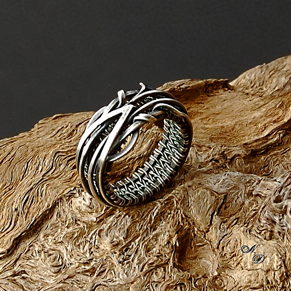 silver ring by Atalia65