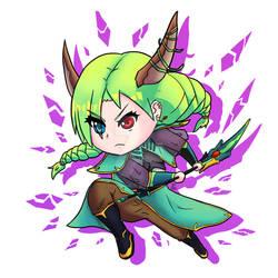 [+Video] Chibi Dragon Princess - Original