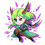 [+Video] Chibi Dragon Princess - Original by JackyLimArt
