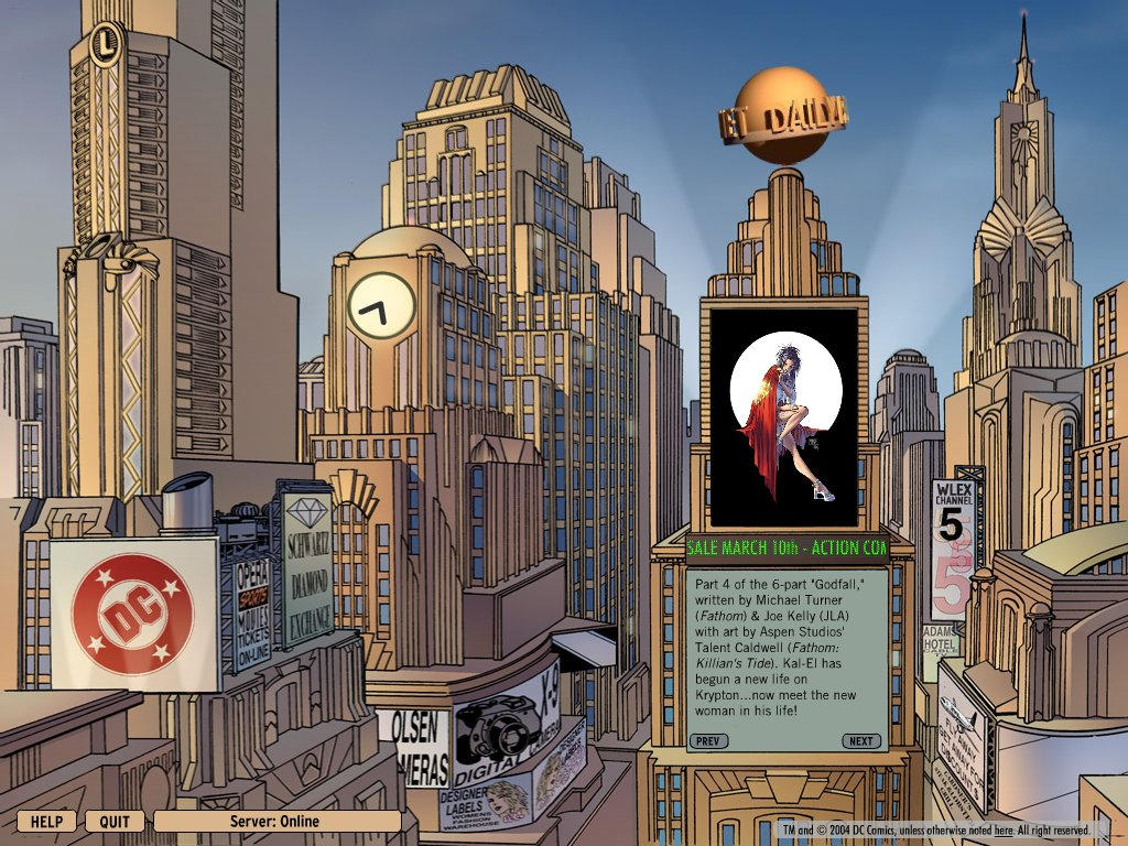 Superman Screensaver by Flatliner74
