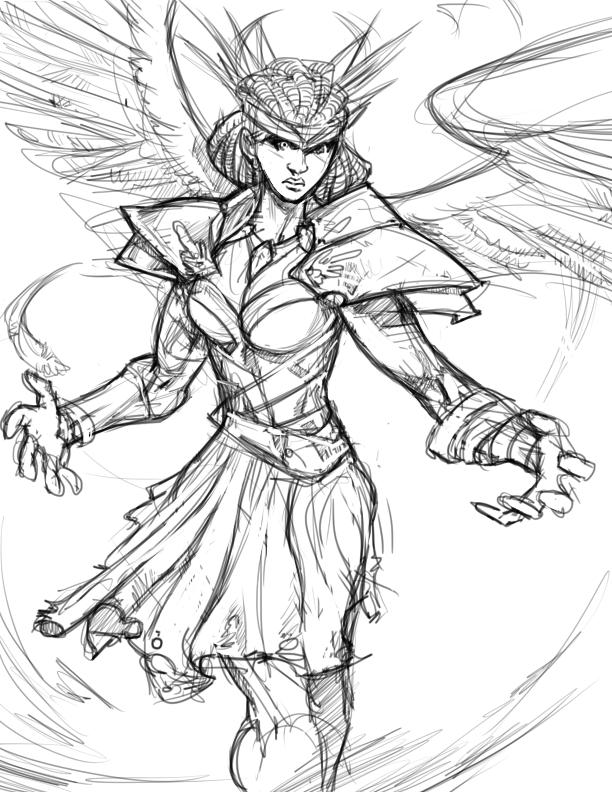 WingedWarrior by Flatliner74