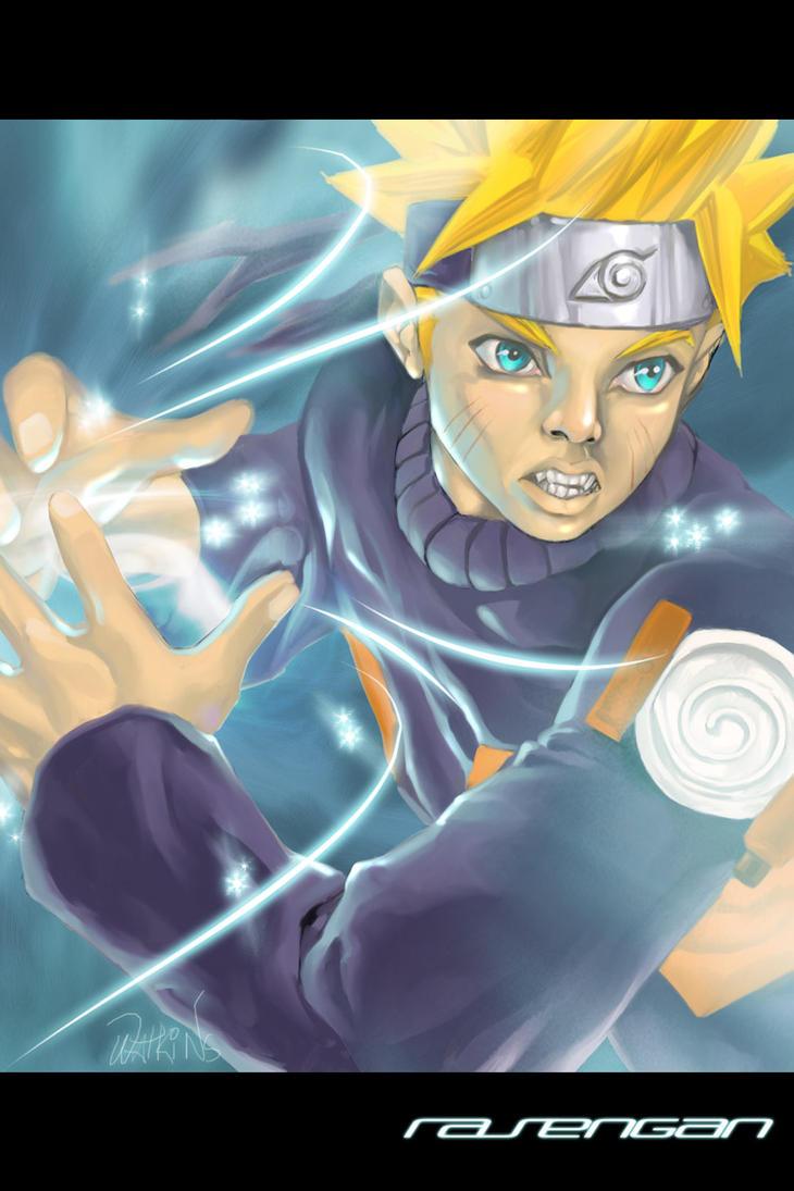 Naruto's Rasengan by Flatliner74