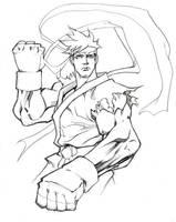Ryu Drawin by Flatliner74
