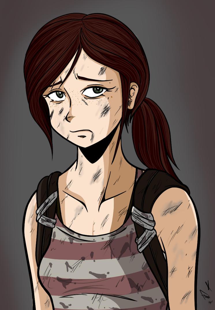 Ellie: Left Behind by frankaraya