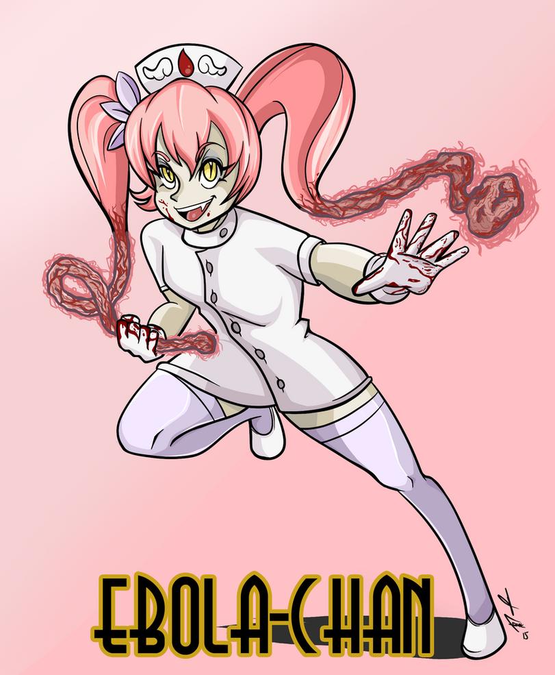Ebola-Chan: Skullgirls Style by frankaraya
