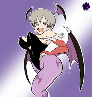 Commission: Succubus-chan Wants to Hang Out!