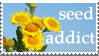 sunflower seed addict stamp ii by guagna