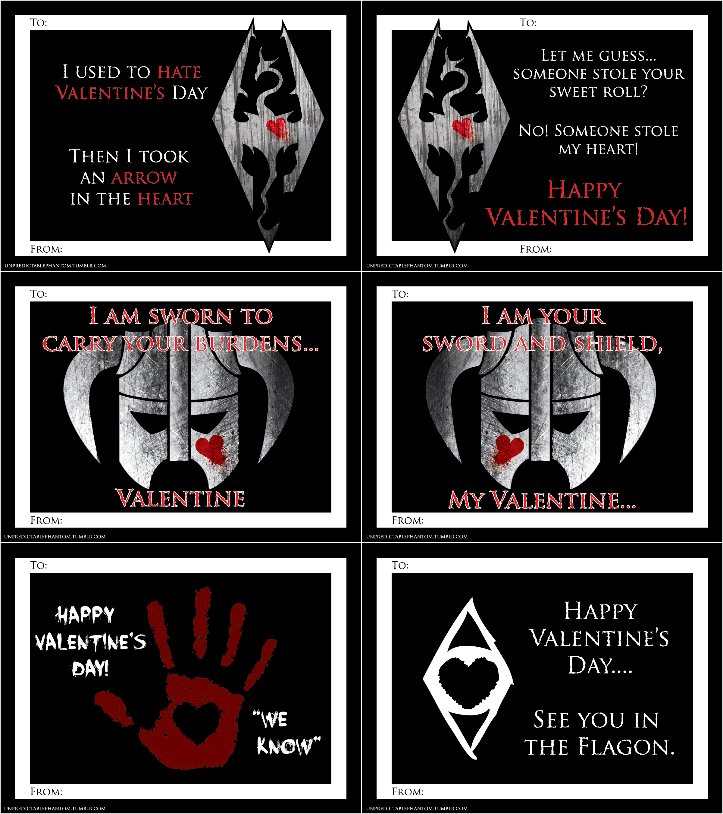 Skyrim Monopoly Cards by oddeh on DeviantArt – Skyrim Valentines Card