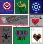 Super Lame Avengers Valentines