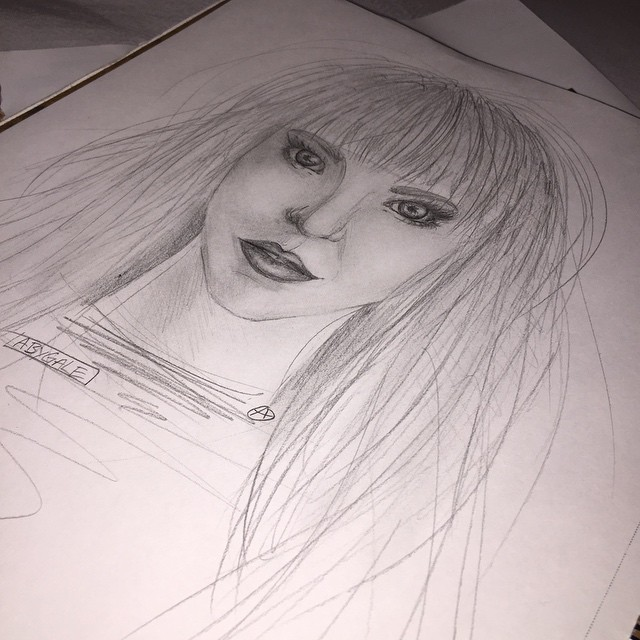 Aby - sketch - wip by AlyOh