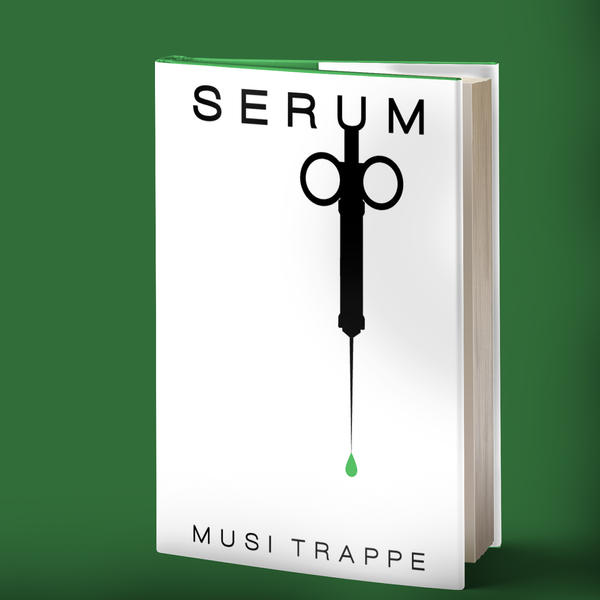 Serum Book Mockup by AlyOh