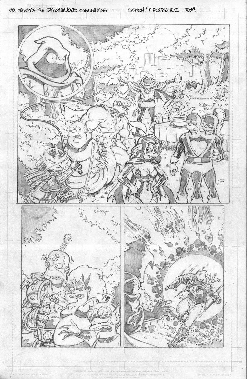 Simpsons Super Spectacular #16 pg7 by ToneRodriguez