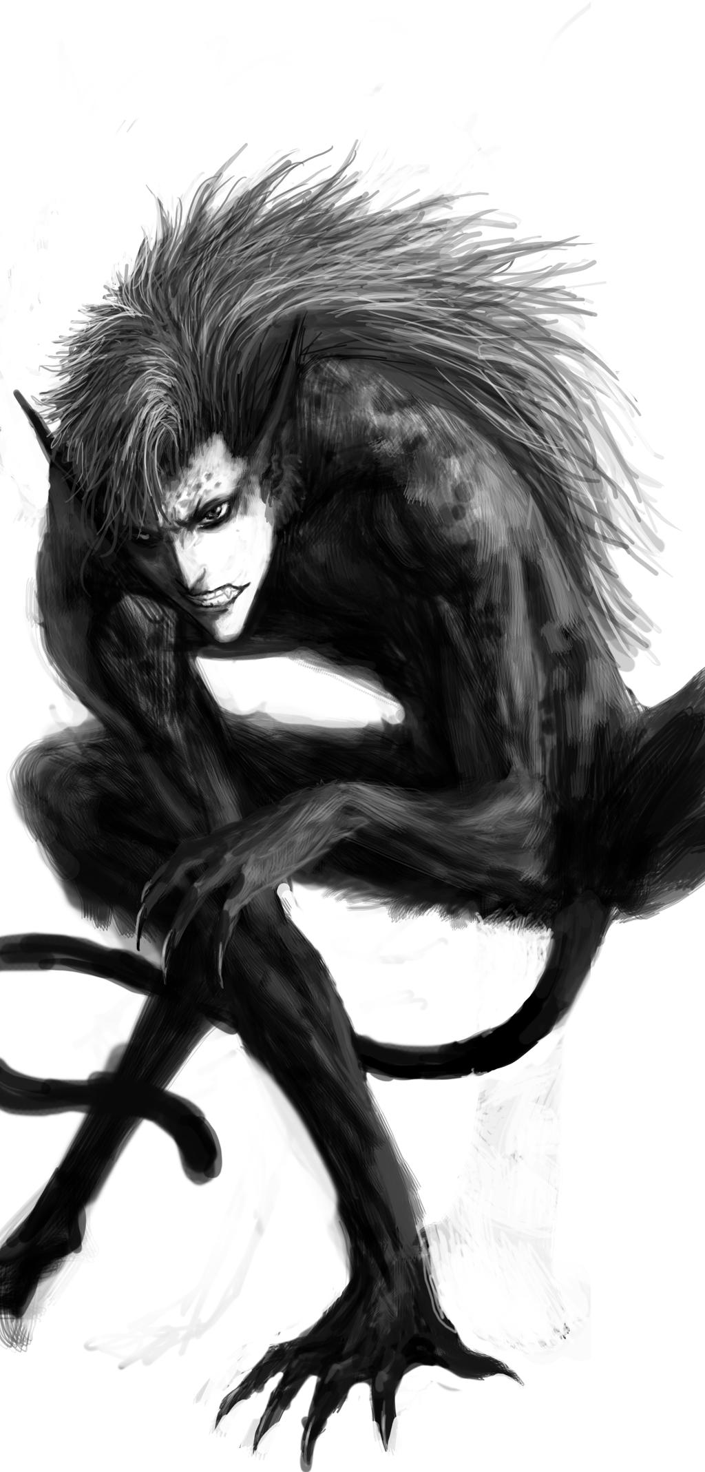 Beast (Grimmjow) by XEstrago