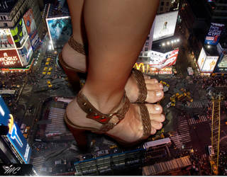 Times Square Crush by The-Masked-Collager