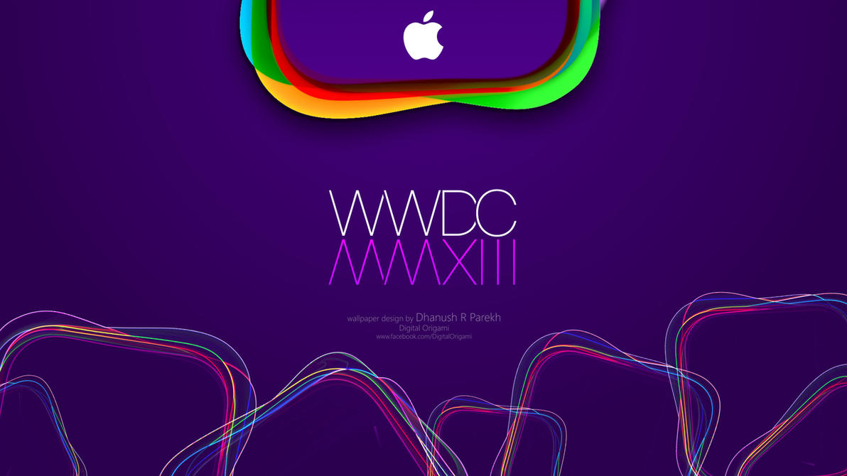 Apple WWDC 2013 wallpaper by DhanushParekh