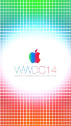 Apple WWDC 2014 Wallpaper iPhone 5 / 5S / 5C