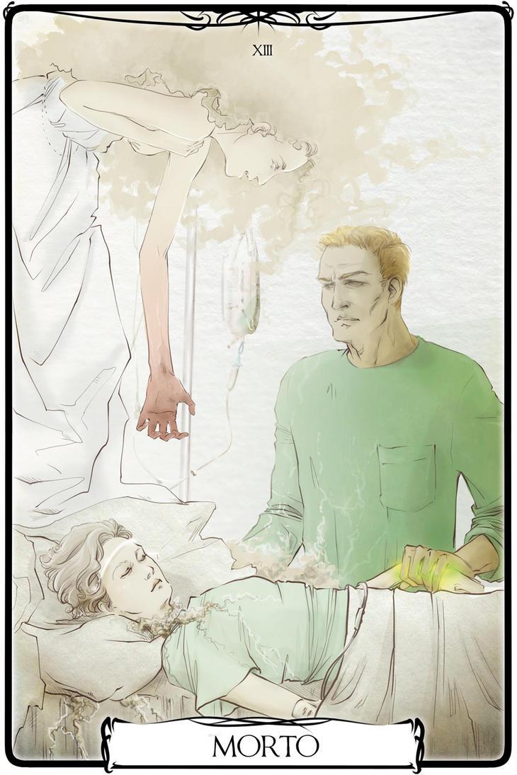 XIII MORTO TAROT by Ouraha-Vogel