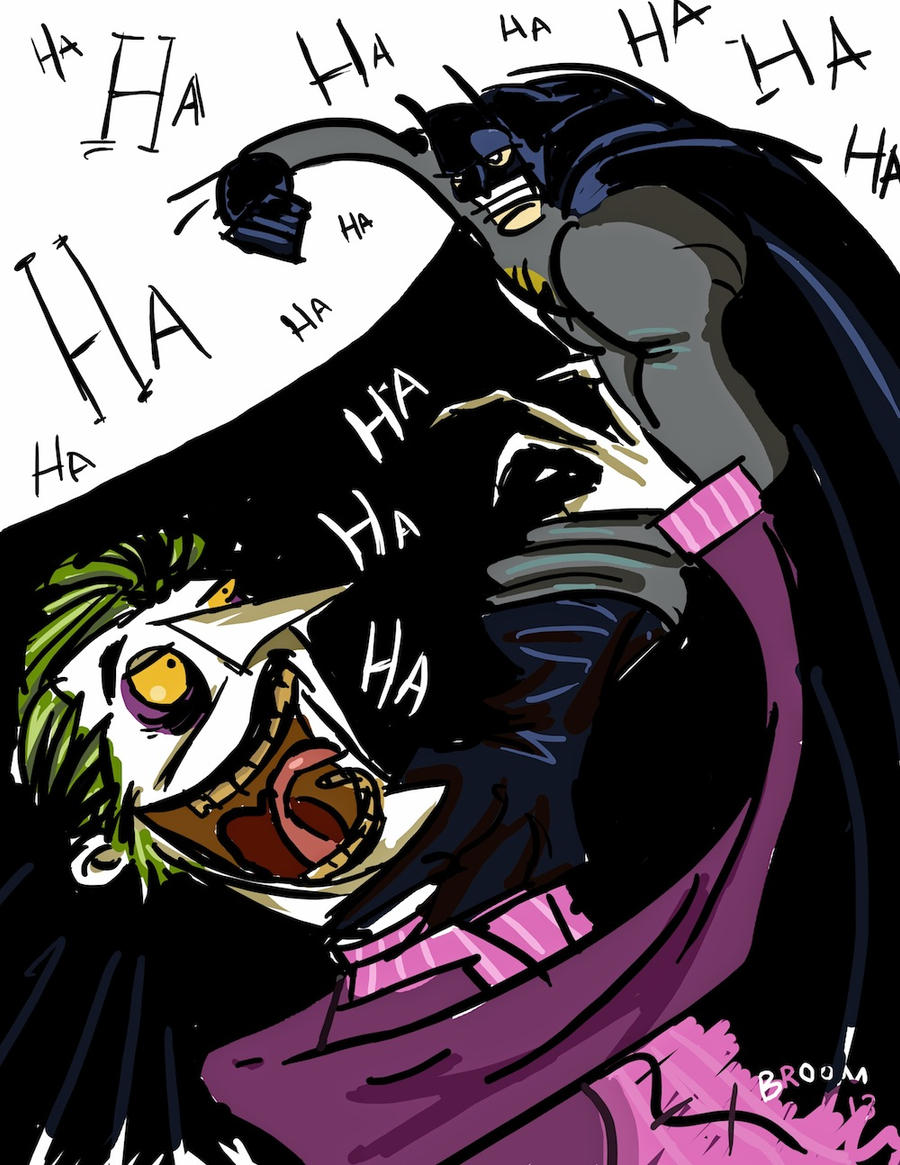 Batman vs Joker by spurs06