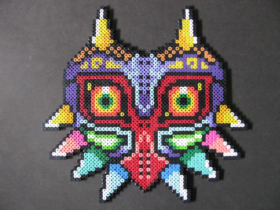 Perler Bead Majora's Mask