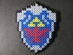 Perler Bead Hylian Shield