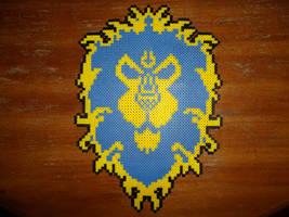 Perler Bead Alliance Crest