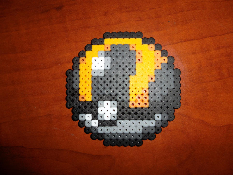 Perler Bead Ultra Ball by EP- Ultra Ball Sprite