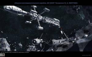 Research ship by SmirnovArtem