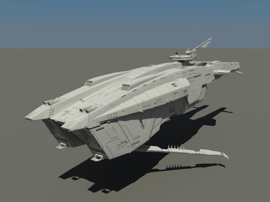 WIP: battleship by SmirnovArtem