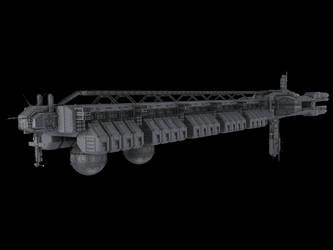 cargo ship by SmirnovArtem