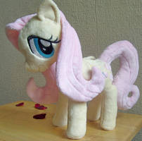 Minky fluttershy plush by EquestriaPaintings