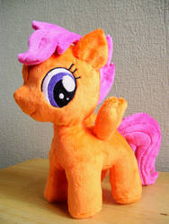 Minky Scootaloo by EquestriaPaintings